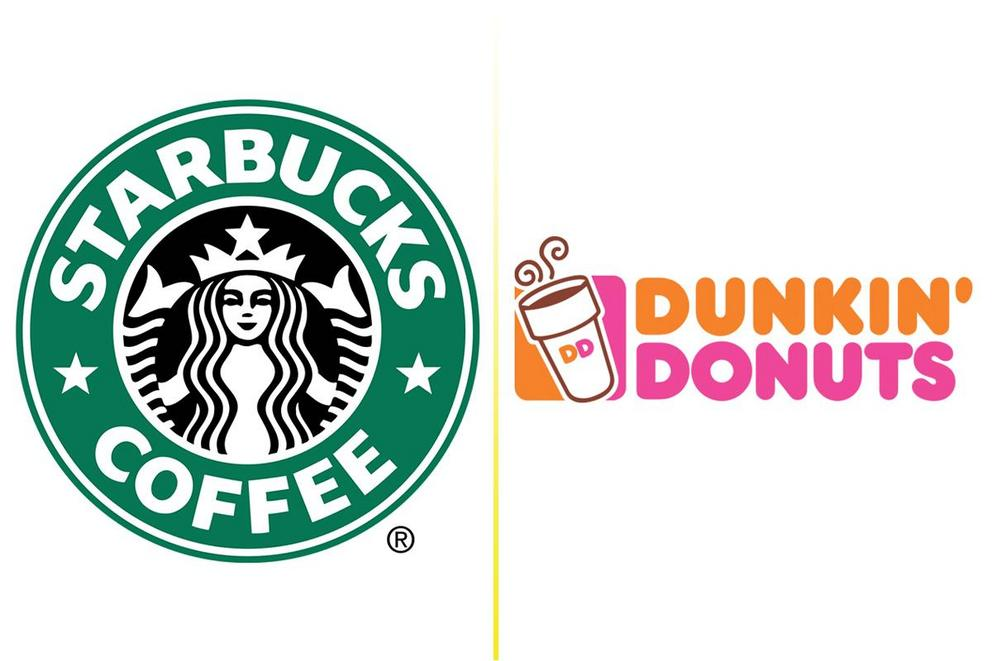 Which coffee shop is better: Starbucks or Dunkin' Donuts?