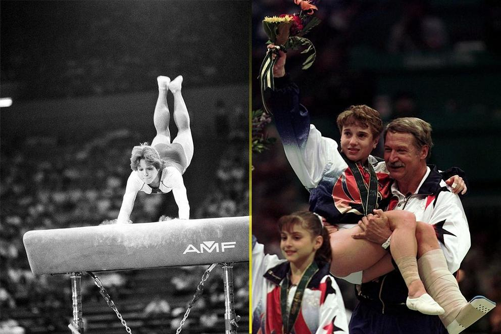 Best women's gymnastics moment: Mary Lou Retton vs. Kerri Strug