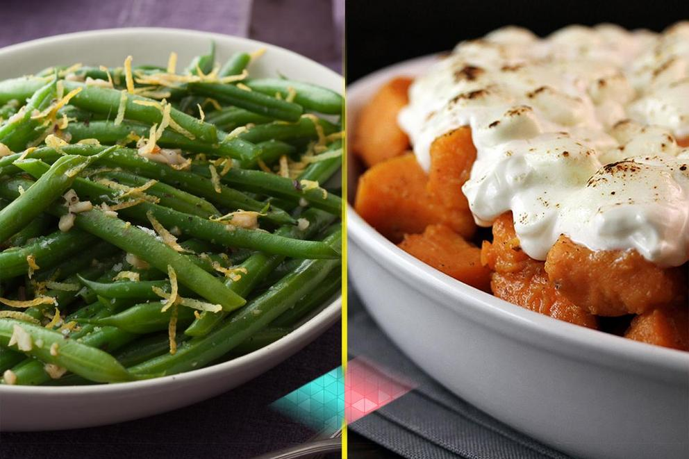Best Thanksgiving veggie side dish: Green beans or yams?