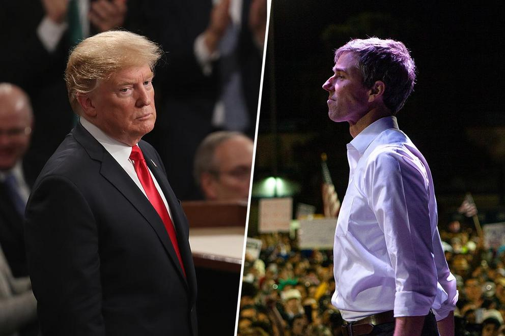 Who had the better night in El Paso: Donald Trump or Beto O'Rourke?