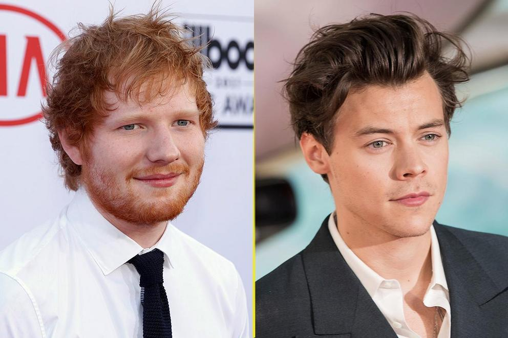 Choice Male Artist: Ed Sheeran or Harry Styles?
