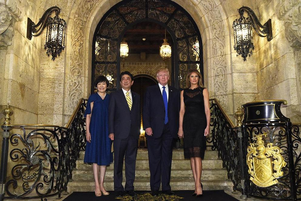 Is it unethical for Trump to host dignitaries at properties he owns?