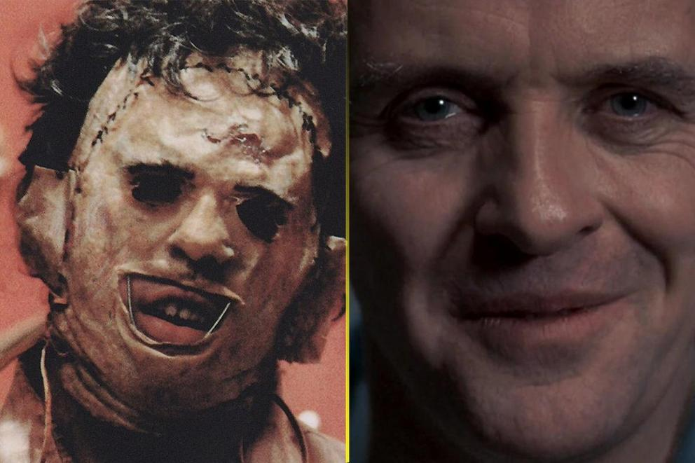 Scariest movie monster: Leatherface or Hannibal Lecter?