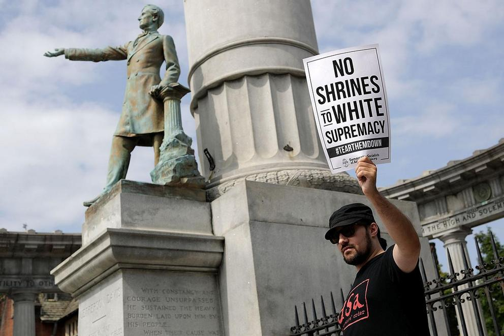 Should monuments to the Confederacy be destroyed or removed from public view?