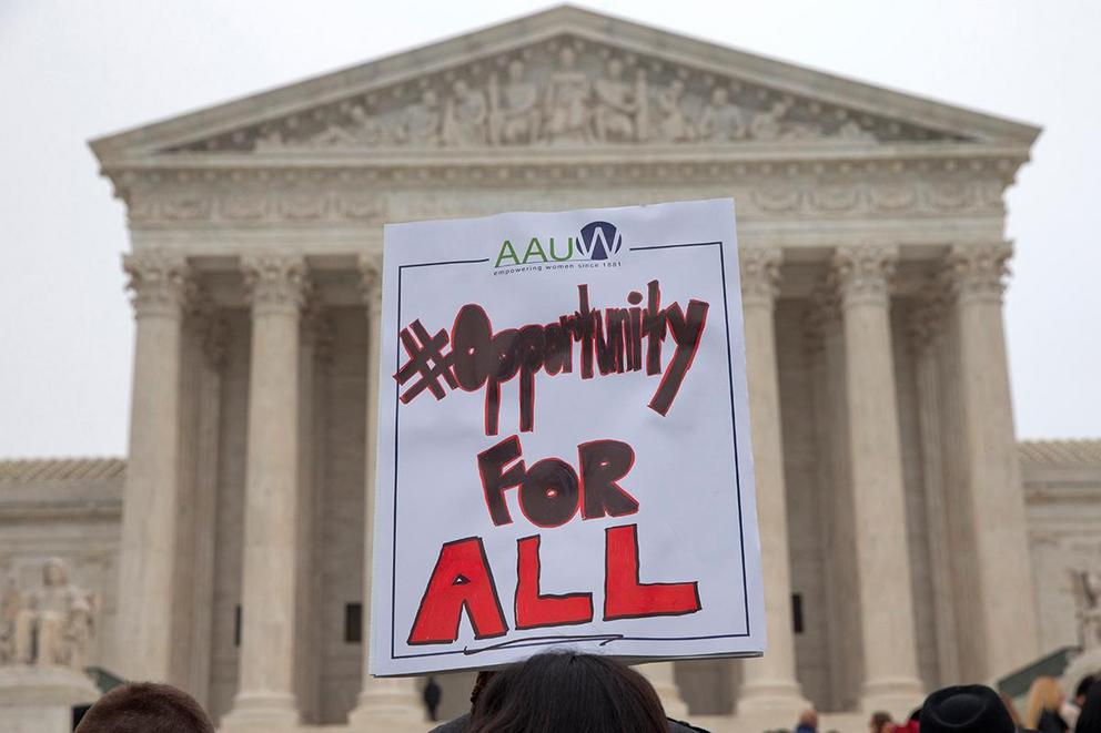 Are affirmative action policies discriminatory?