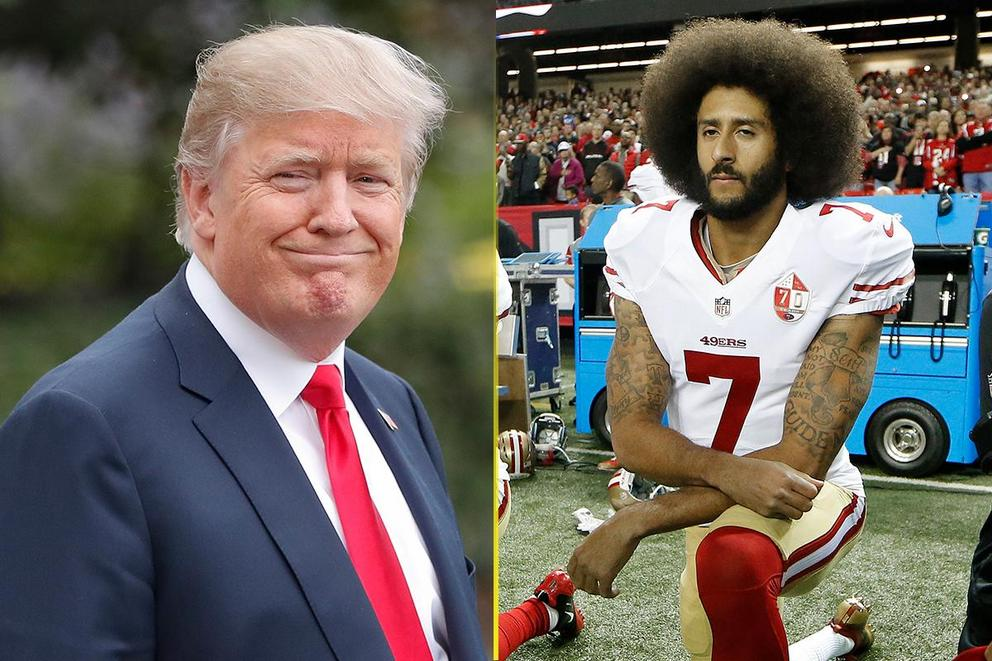 Who should be TIME's Person of the Year: President Trump or Colin Kaepernick?