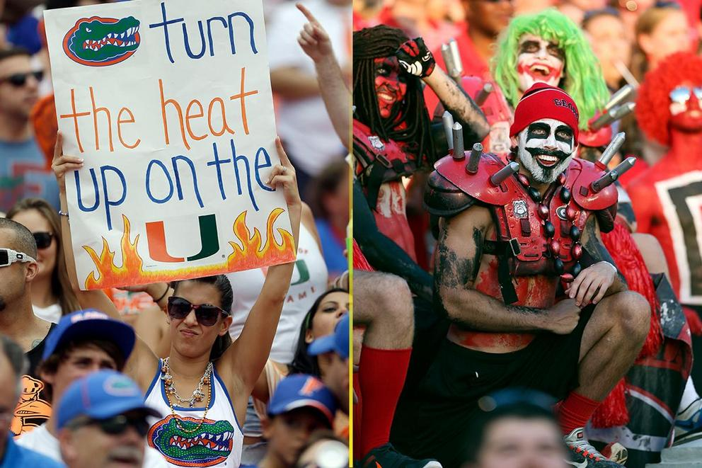 NCAA's Best College Fan Base: Florida or Georgia?