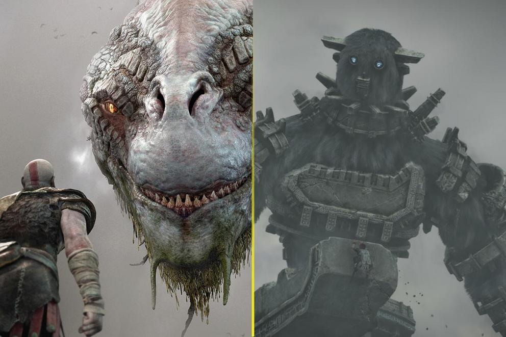 Best Sony game of 2018 so far: 'God of War' or 'Shadow of the Colossus'?
