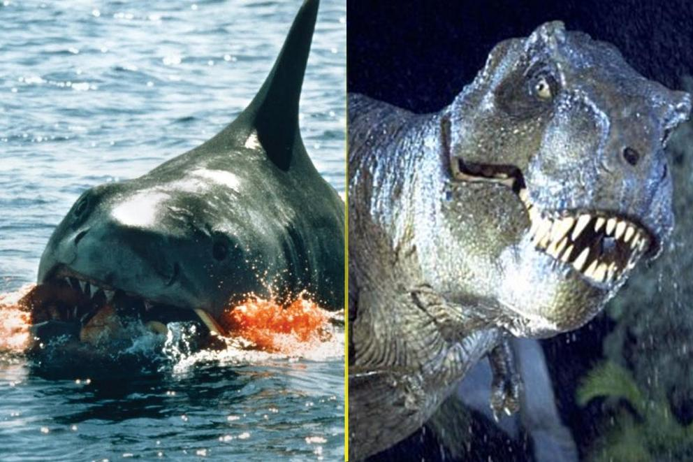 Best creature feature: 'Jaws' or 'Jurassic Park'?