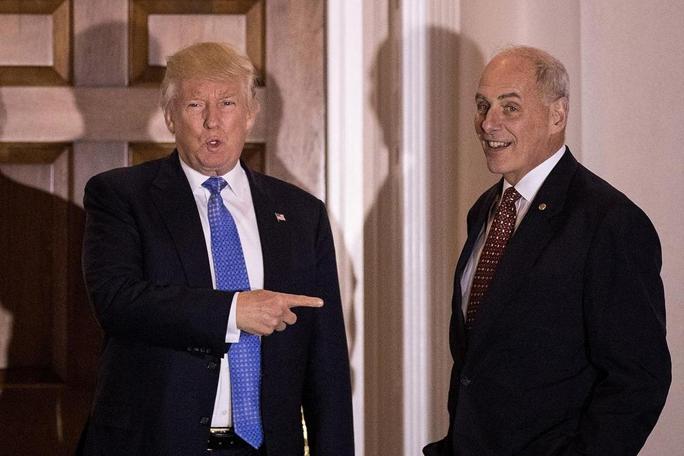 Would you take the job as Donald Trump's chief of staff?