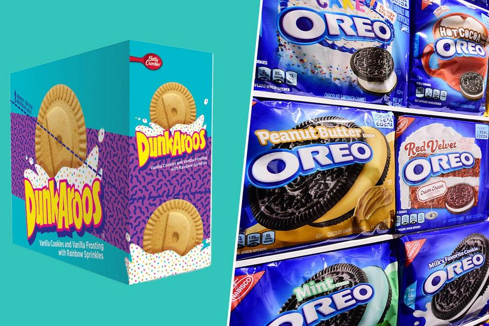 Which are better: Dunkaroos or Oreos?