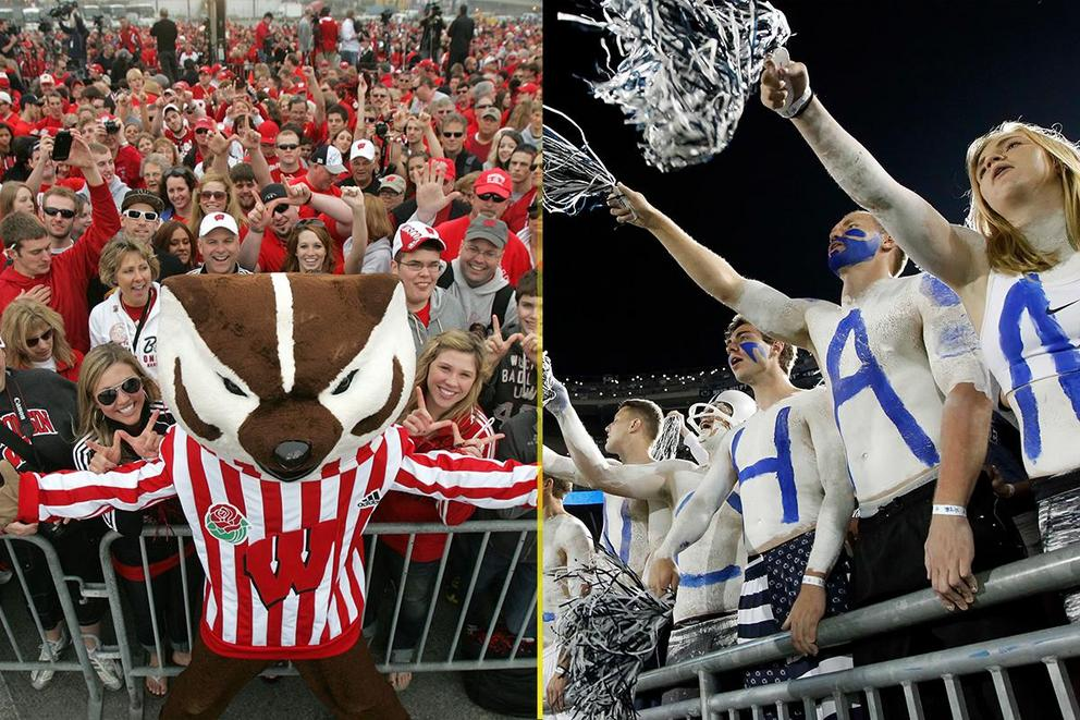 NCAA's Best College Fan Base: Wisconsin or Penn State?