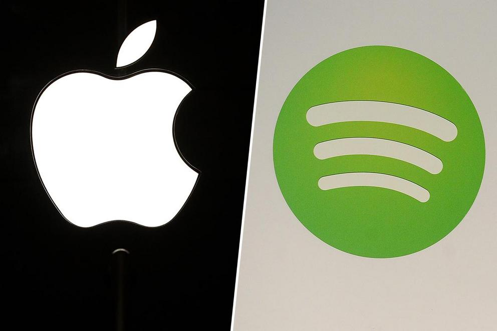 Favorite music streaming service: Apple or Spotify?