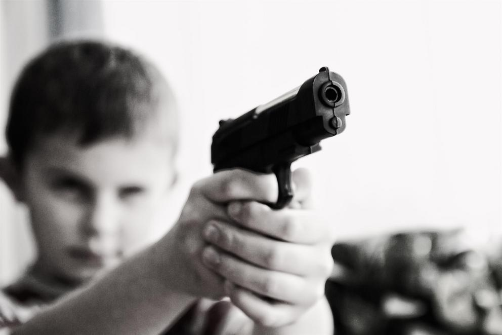 Is it wrong to give kids toy guns?