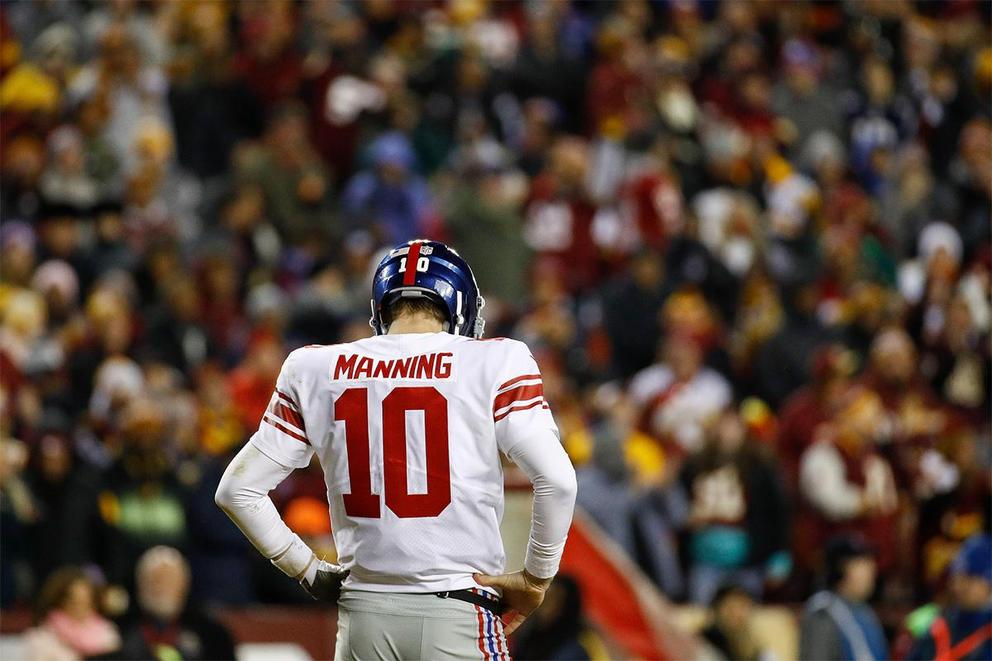 Did Eli Manning deserve to be benched?