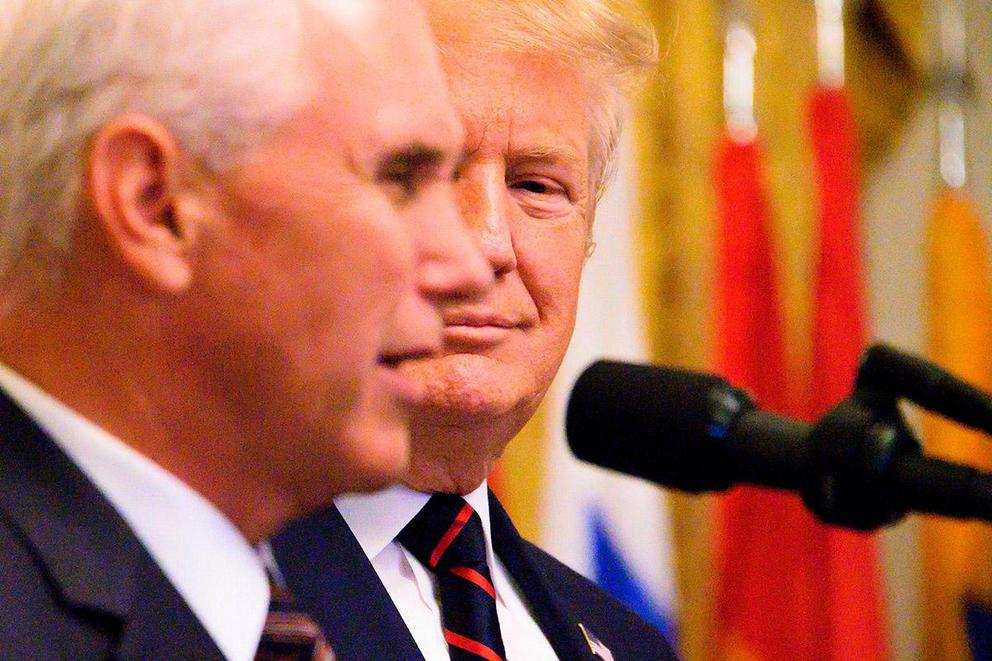 Who would you prefer as president: Donald Trump or Mike Pence?