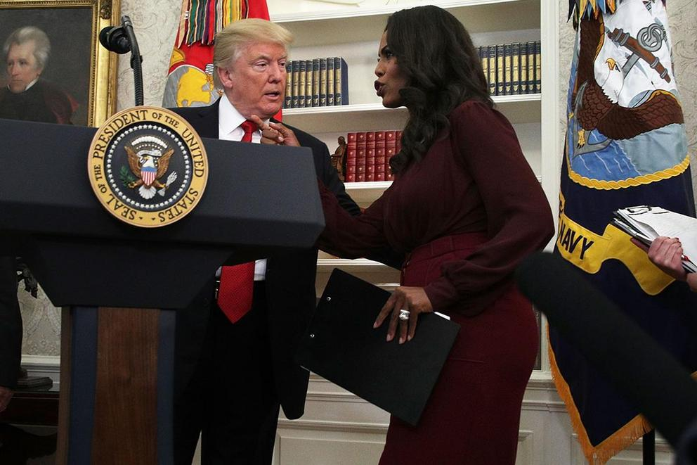Should we be done with Omarosa now?