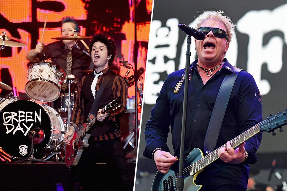 Which punk band is your favorite: Green Day or The Offspring?