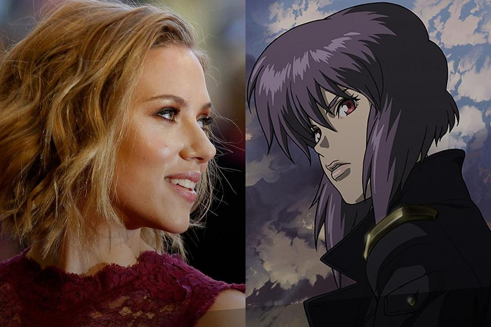 "Scarlett Johansson is starring in ""Ghost In The Shell"""