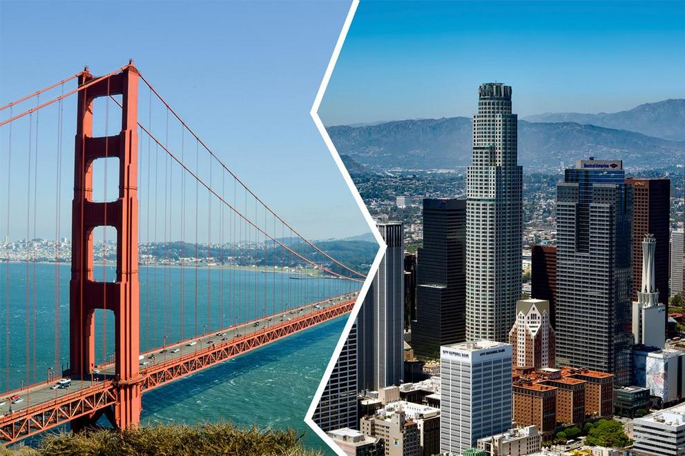 San Francisco or Los Angeles: Which is the best West Coast city?