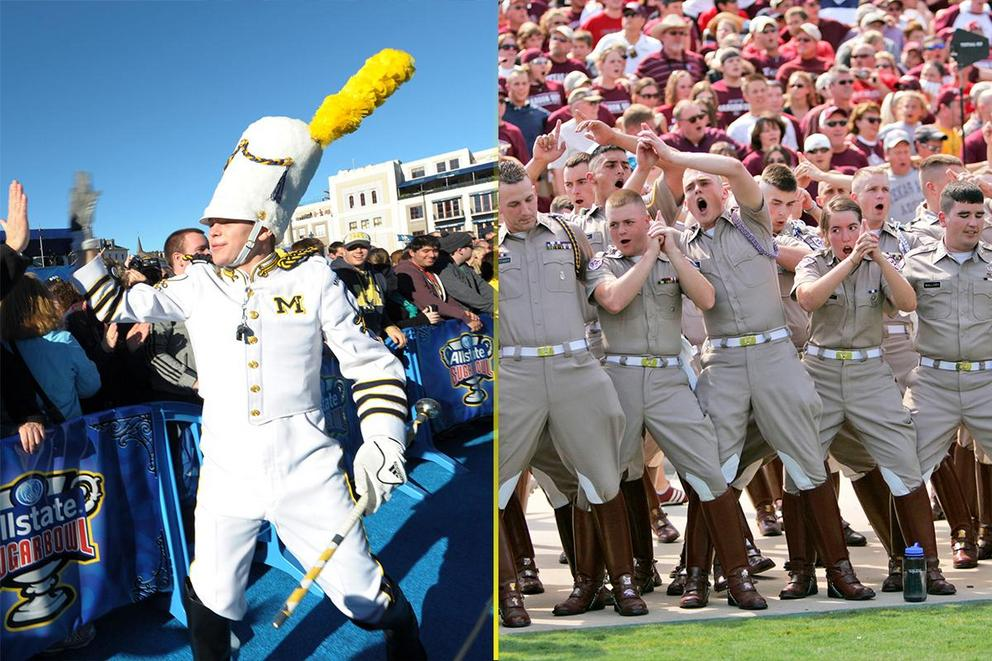 Best college fight song: Michigan or Texas A&M?