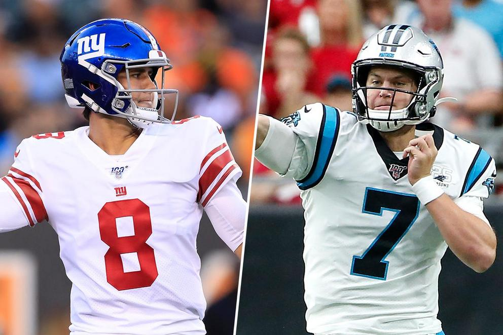 Which young quarterback would you rather have: Daniel Jones or Kyle Allen?