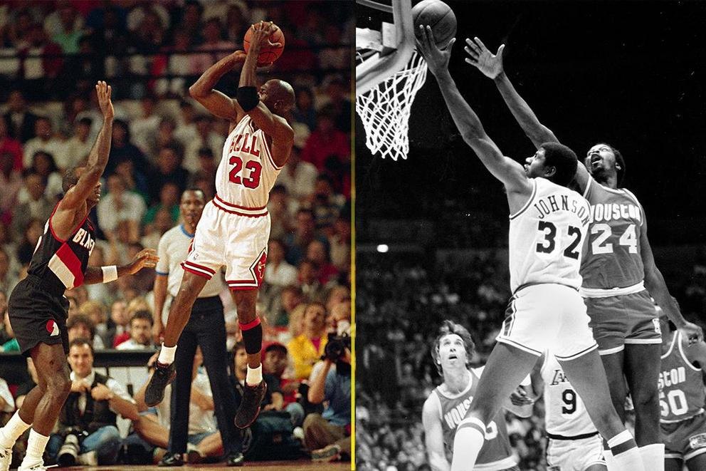 Most clutch NBA player: Michael Jordan or Magic Johnson?