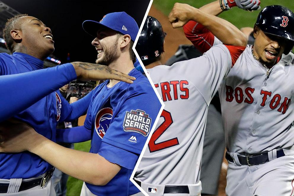 MLB team of the year: Chicago Cubs or Boston Red Sox?