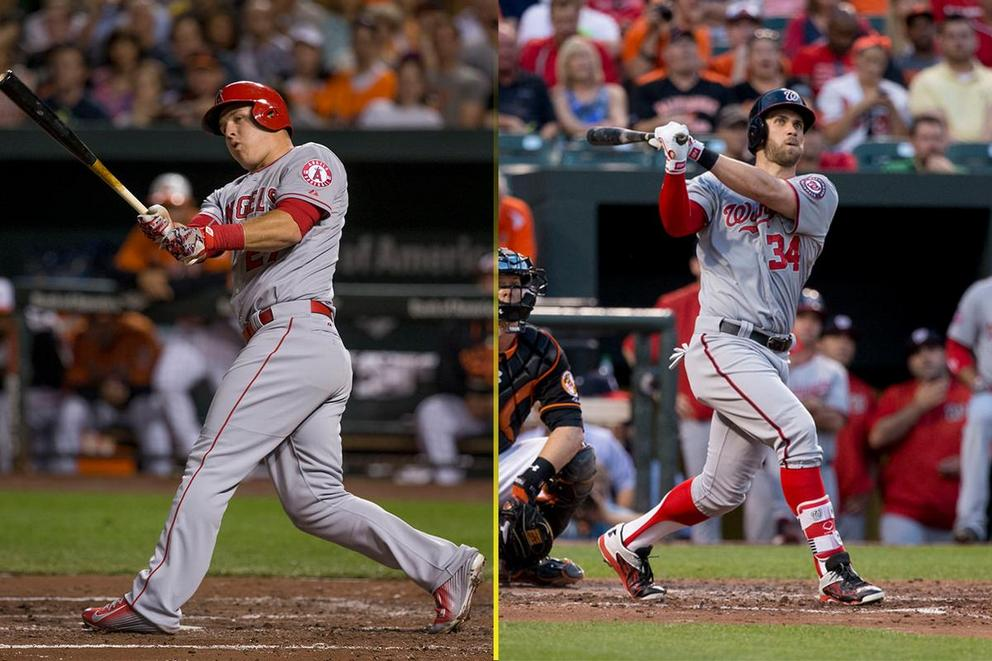 Who would you build a MLB team around: Mike Trout or Bryce Harper?