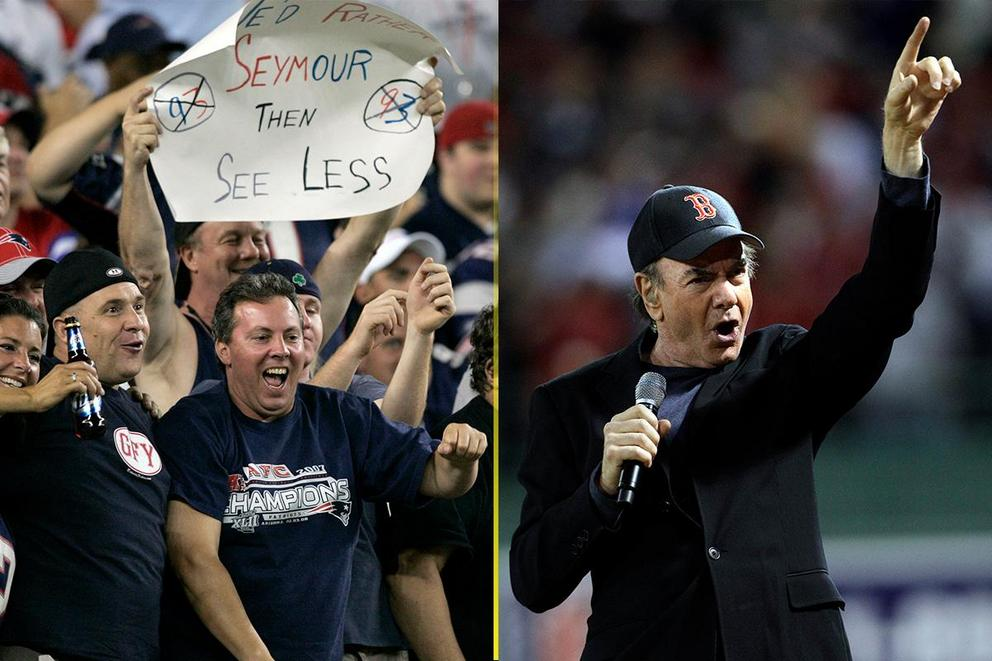 Best New England Stadium Song: 'Your Love' vs. 'Sweet Caroline'?