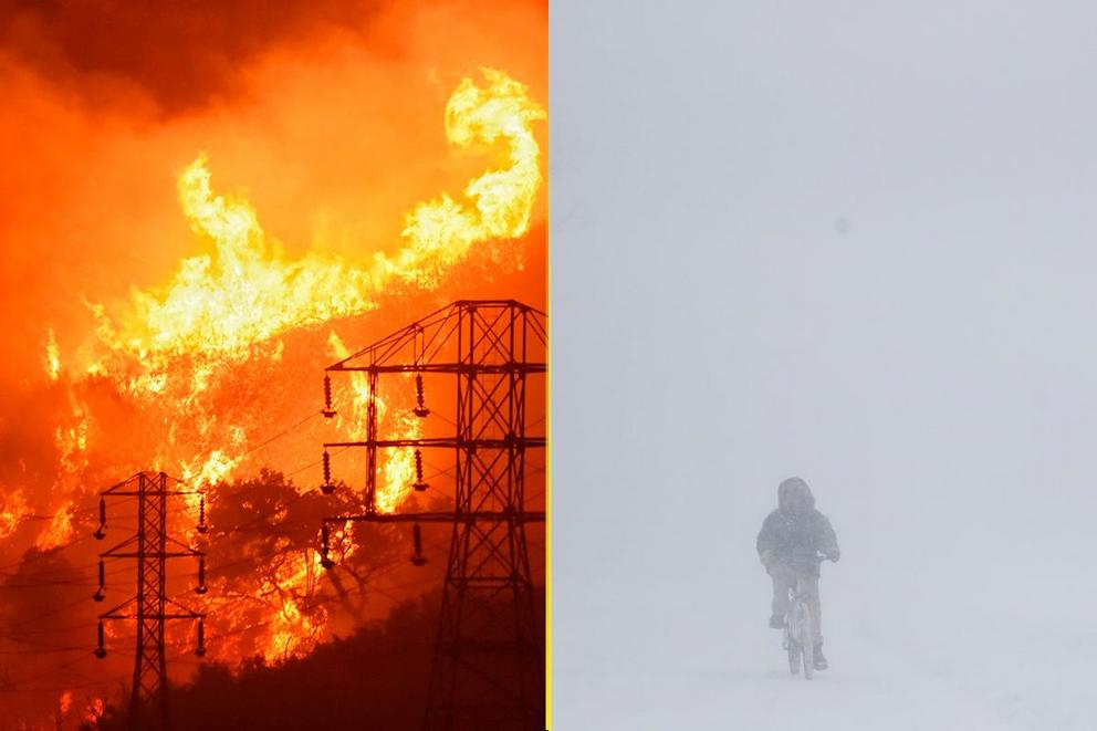 Which would you pick: 100-degree heat or Snowmageddon?