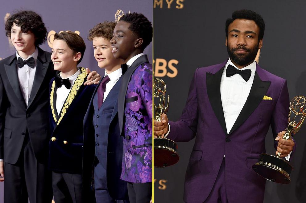 Who was most dapper at the Emmys: 'Stranger Things' boys or Donald Glover?
