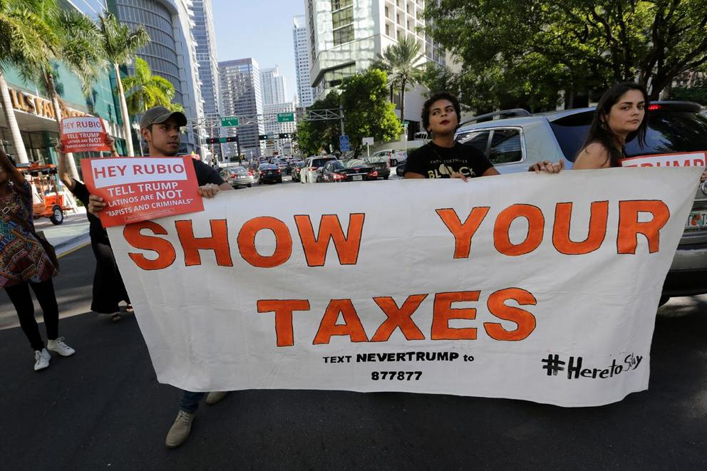 Do we still care about Donald Trump's tax returns?