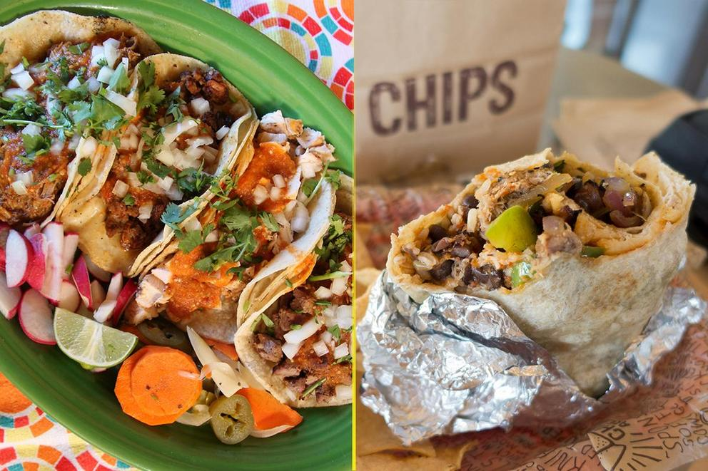 Are burritos better than tacos?