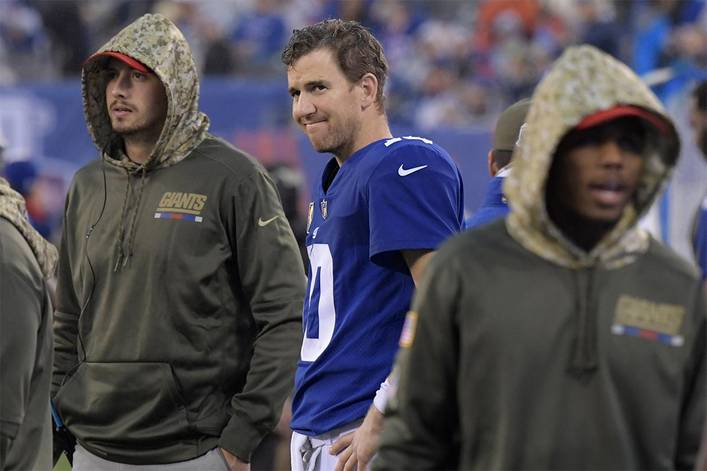 Is Eli Manning finished in New York?