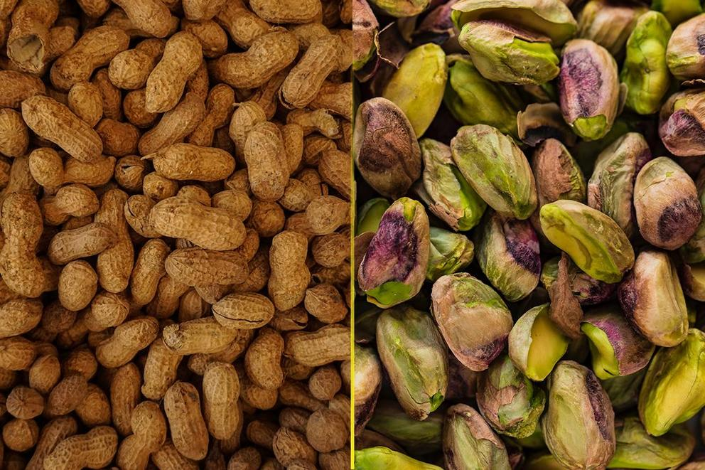 Best type of nut: Peanut or Pistachio?