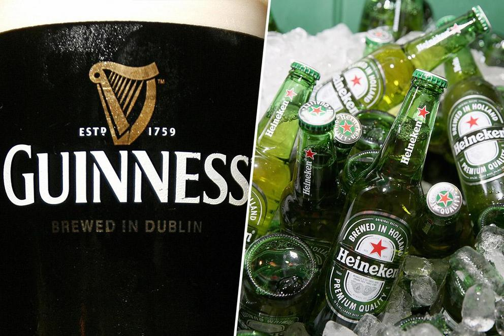 America's favorite beer: Guinness or Heineken?