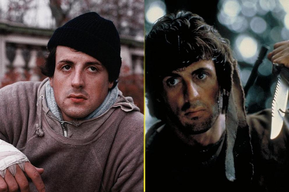 Sylvester Stallone's most iconic role: Rocky or Rambo?