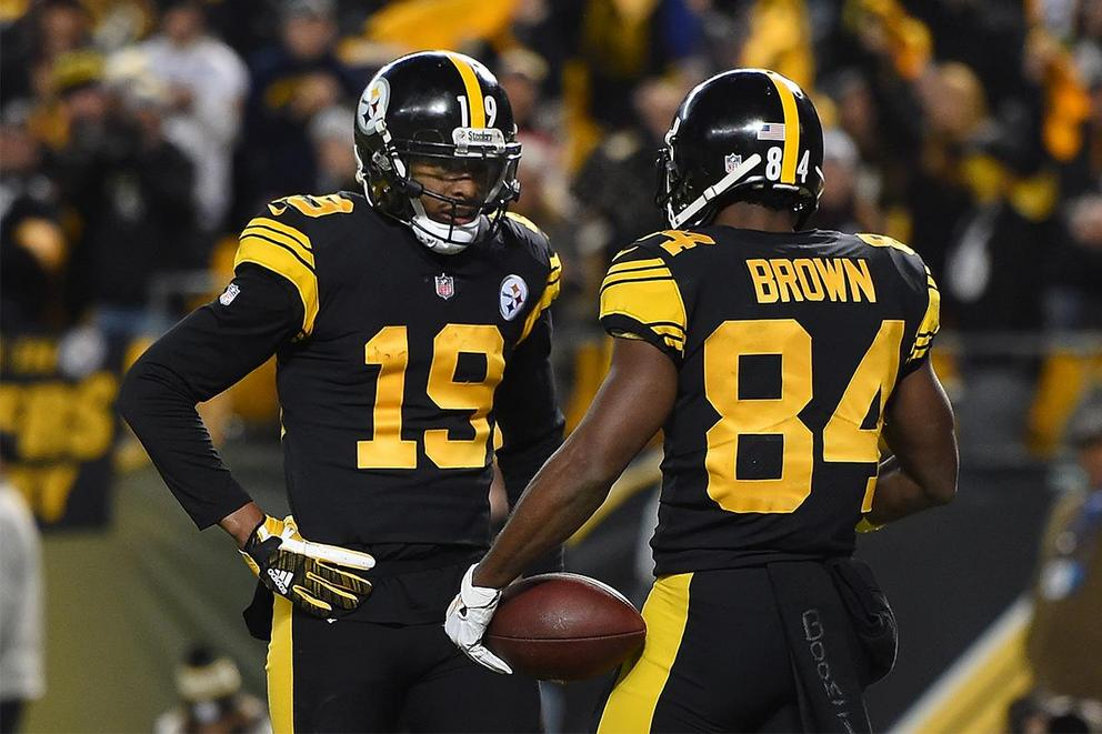 Who would you rather have on your team: Antonio Brown or JuJu Smith-Schuster?