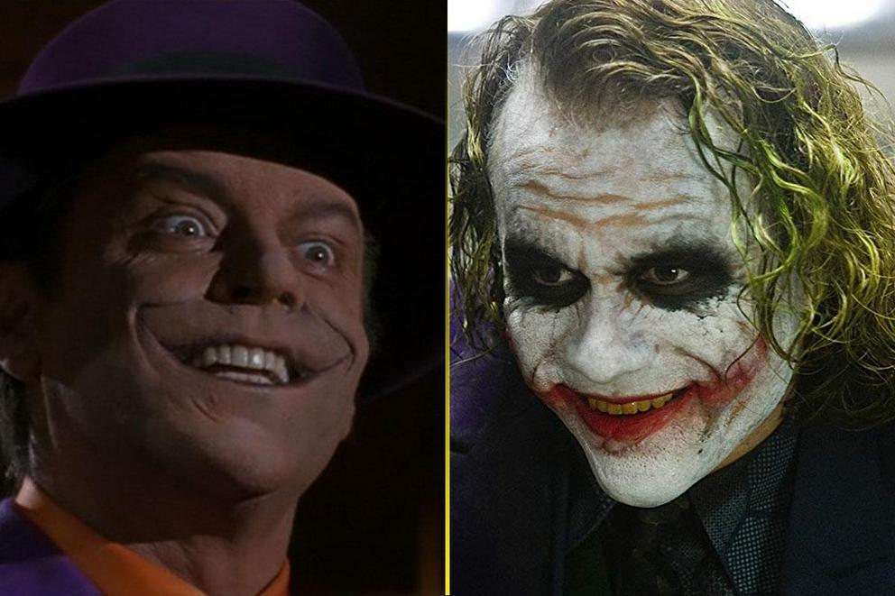 Who's the most iconic Joker: Jack Nicholson or Heath Ledger?