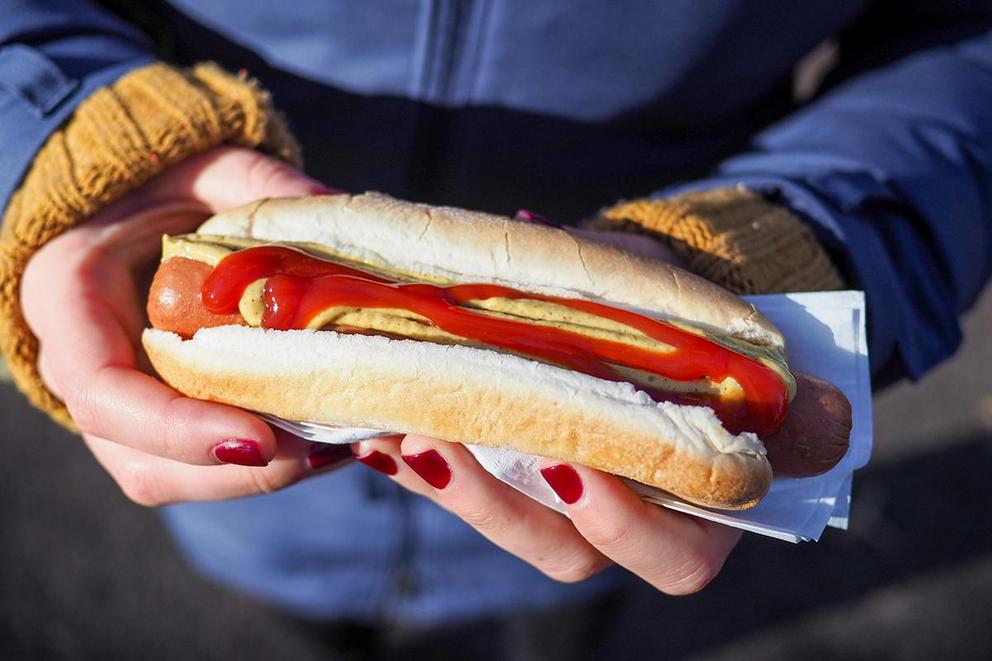 Does ketchup belong on a hot dog?