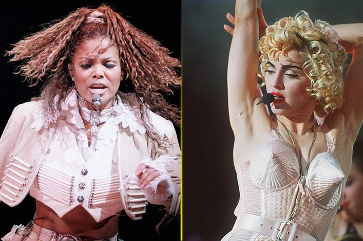More influential pop queen: Janet Jackson or Madonna?