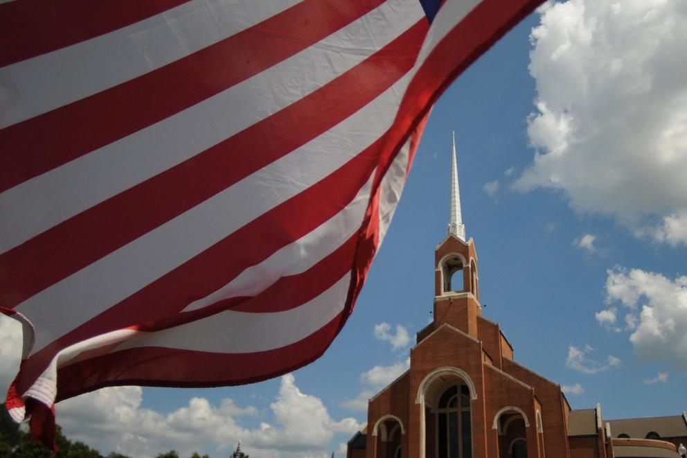 Should churches have police forces?