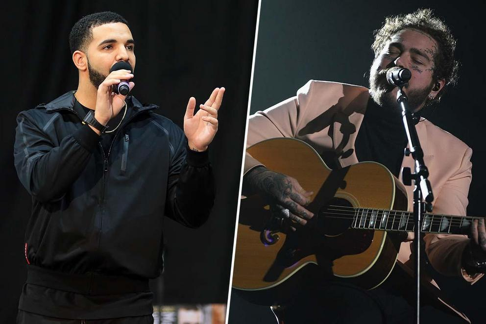 2019 iHeartRadio Male Artist of the Year: Drake or Post Malone?