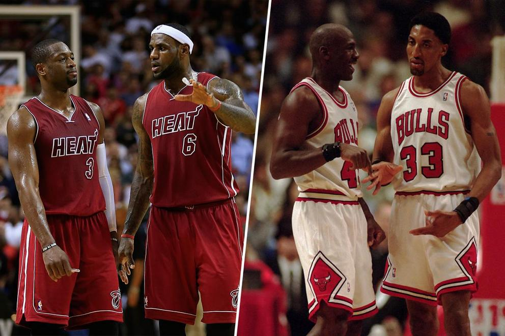 LeBron-Wade vs. Jordan-Pippen: Who would win 2-on-2?