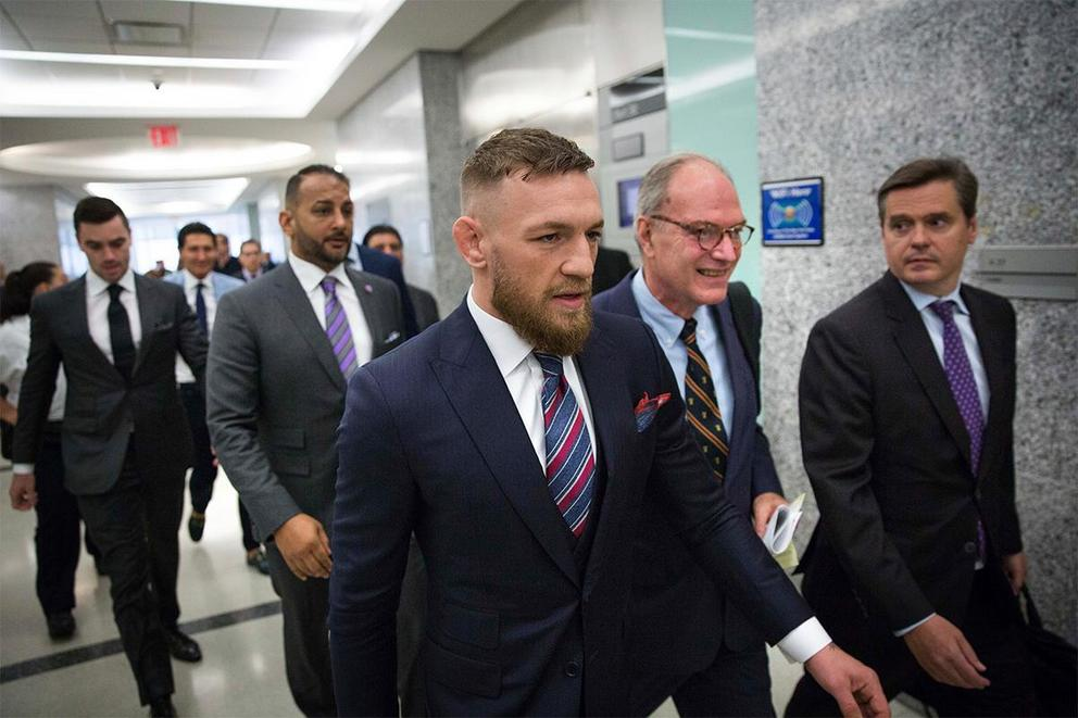 Should Conor McGregor be banned for life from the UFC?