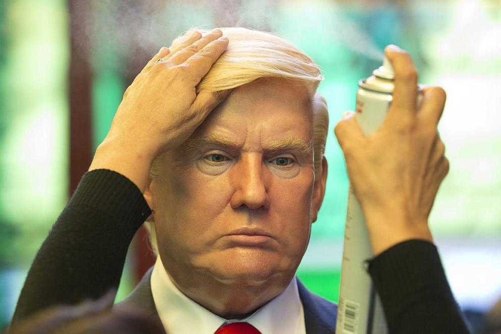 Is it wrong to make fun of President Trump's hair?