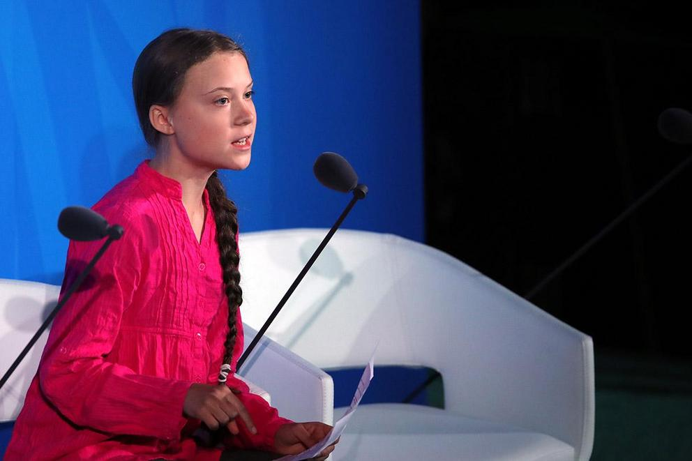 Greta Thunberg for president?