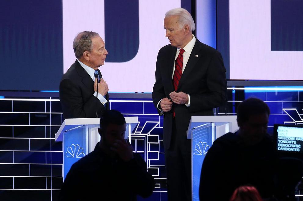 Is Joe Biden or Michael Bloomberg the best moderate candidate?
