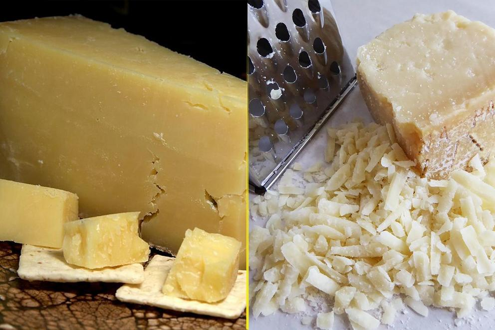 Which cheese is better: Cheddar or parmesan?